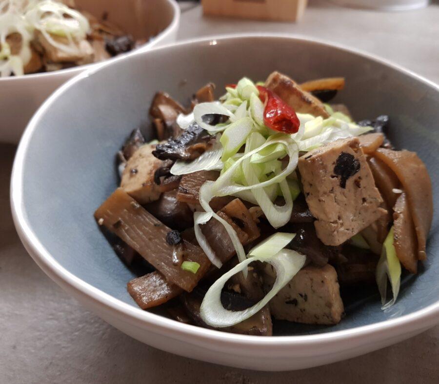 Funghi e bambù