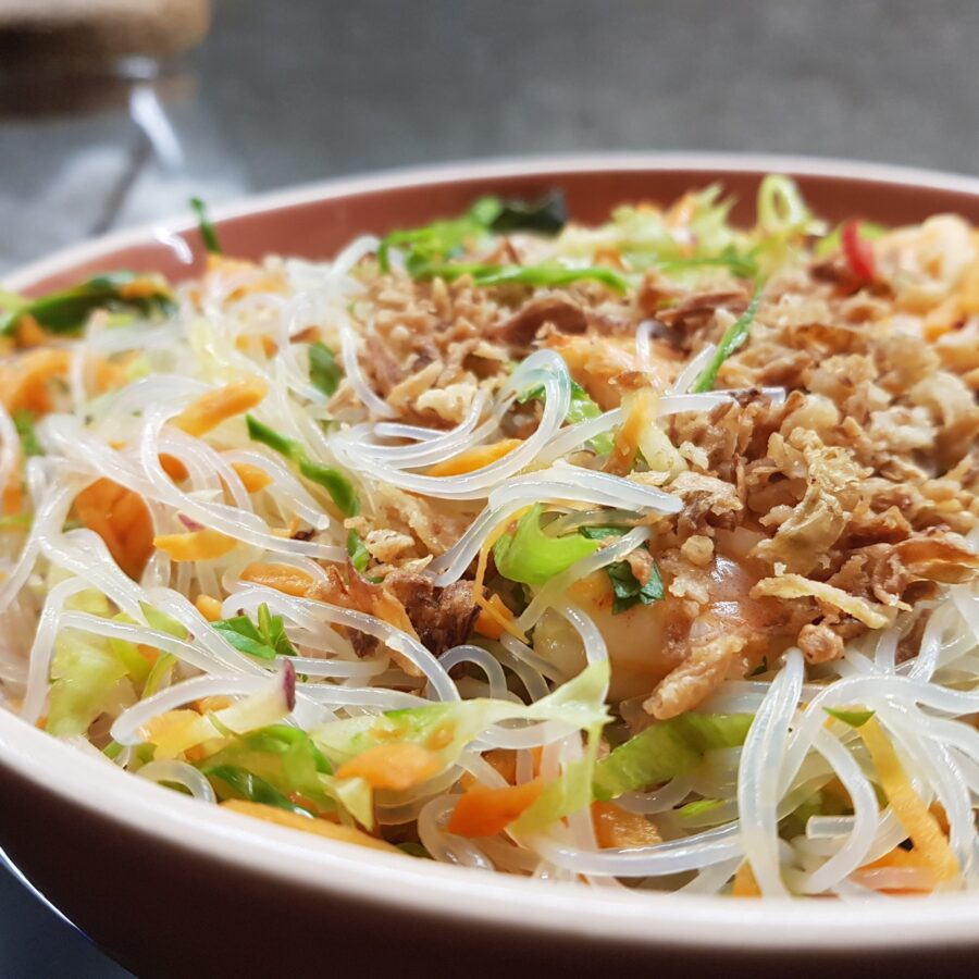 Insalata fredda di noodles