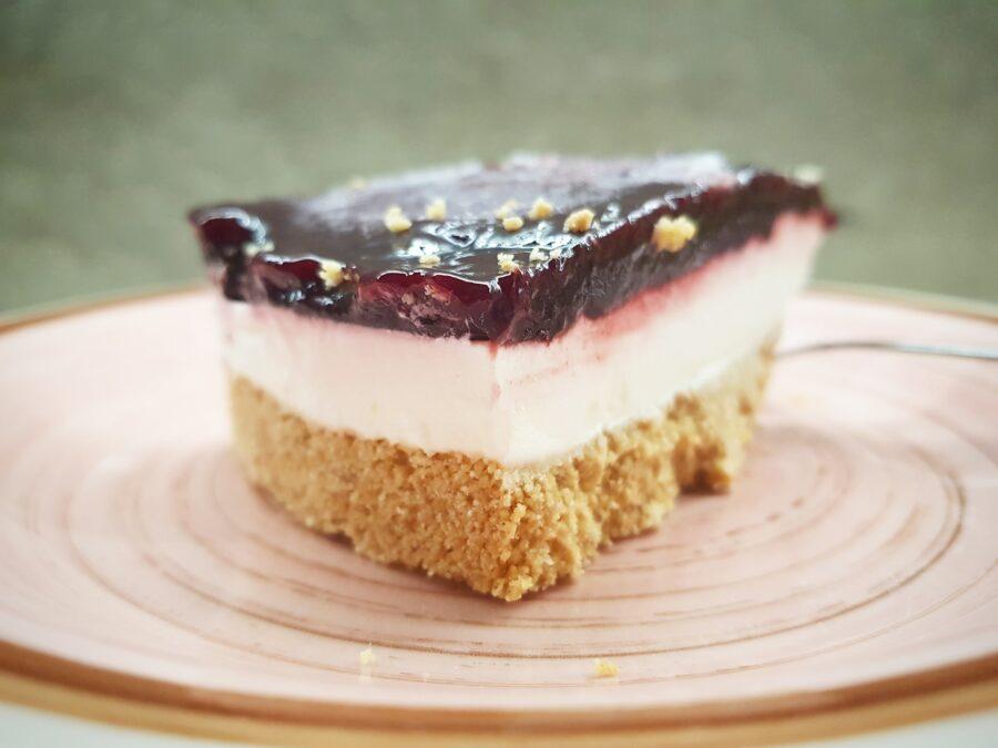 Vegan Cheesecake ai frutti di bosco