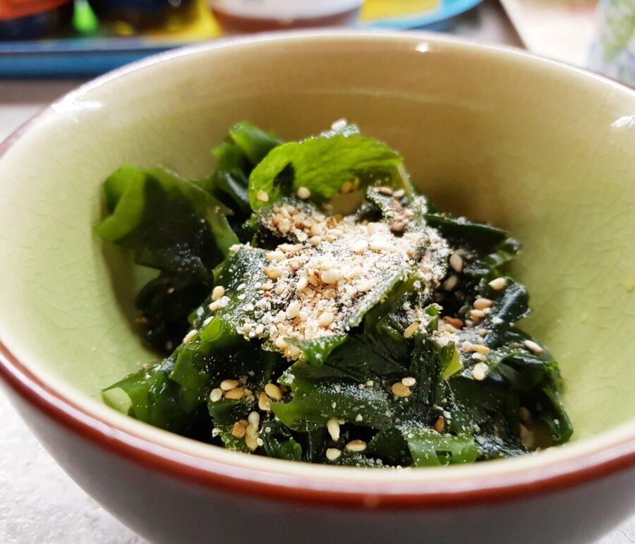 Insalatina di alghe wakame